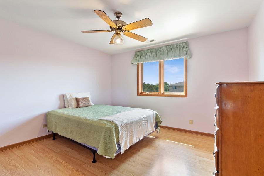Real Estate Photography - 17731 Bernard Dr, Unit 3B, Orland Park, IL, 60467 - Bedroom