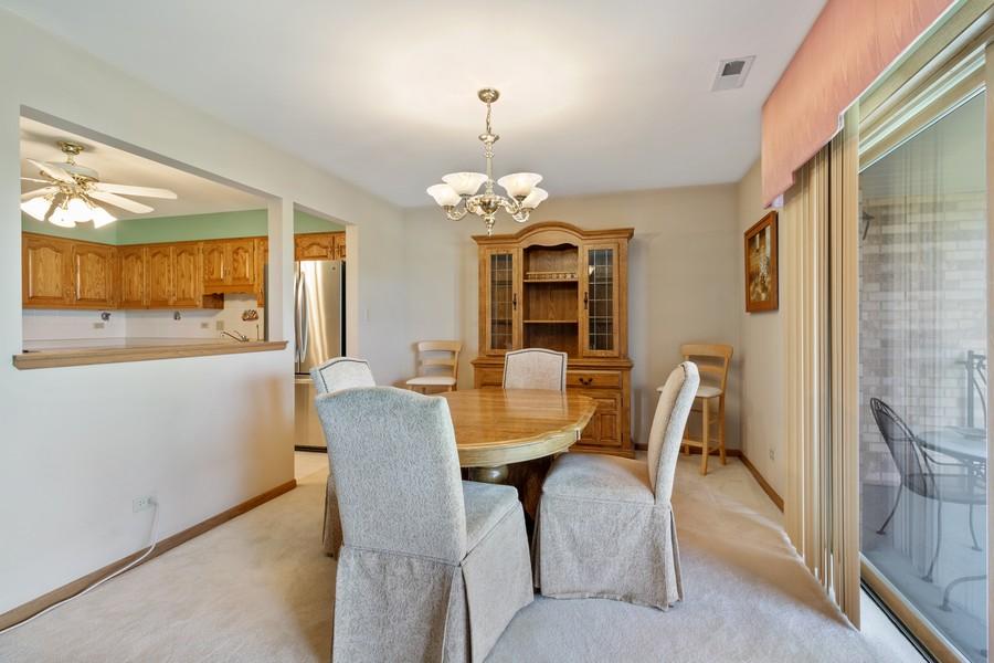 Real Estate Photography - 17731 Bernard Dr, Unit 3B, Orland Park, IL, 60467 - Dining Room