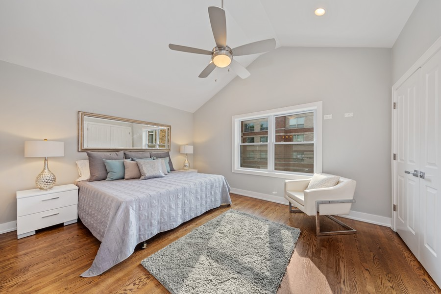 Real Estate Photography - 3248 S Prairie Avenue, Chicago, IL, 60616 - Master Bedroom