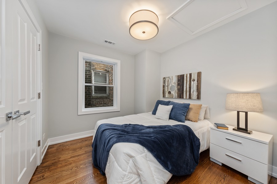 Real Estate Photography - 3248 S Prairie Avenue, Chicago, IL, 60616 - 2nd Bedroom