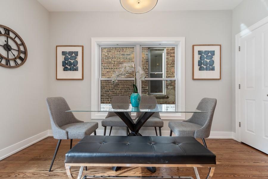 Real Estate Photography - 3248 S Prairie Avenue, Chicago, IL, 60616 - Breakfast Area