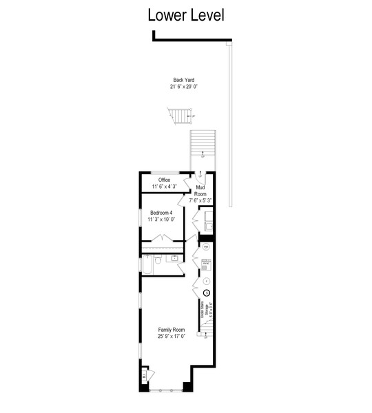 Real Estate Photography - 3248 S Prairie Avenue, Chicago, IL, 60616 - Floor Plan