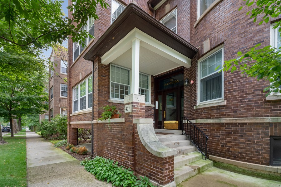 Real Estate Photography - 426 Hamilton, Unit 2, Evanston, IL, 60202 - Entrance