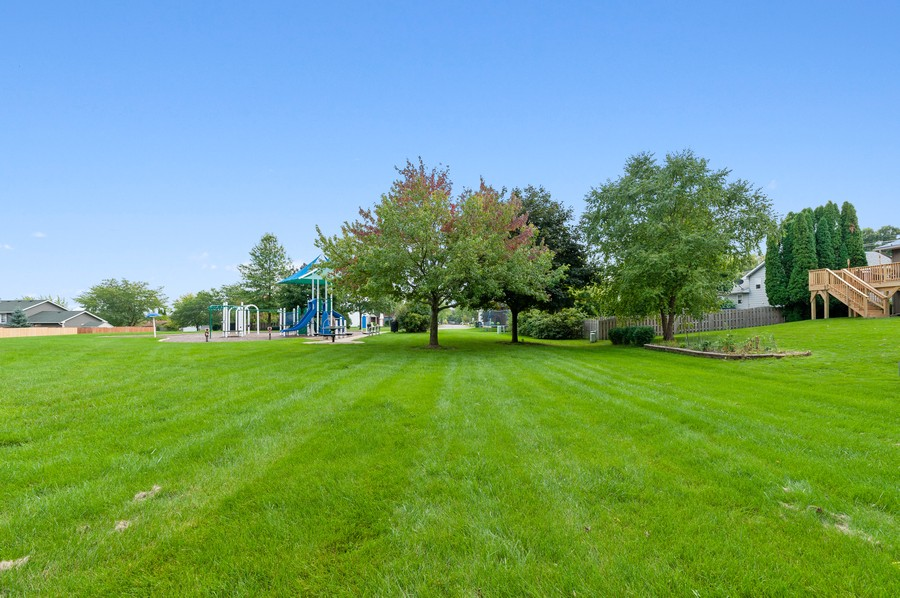 Real Estate Photography - 821 N Beck Rd, Lindenhurst, IL, 60046 - Rear View