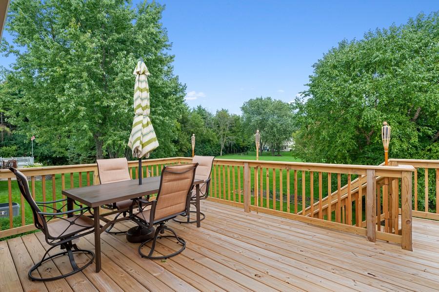 Real Estate Photography - 821 N Beck Rd, Lindenhurst, IL, 60046 - Deck
