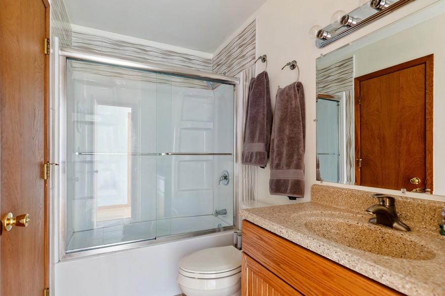 Real Estate Photography - 821 N Beck Rd, Lindenhurst, IL, 60046 - Bathroom