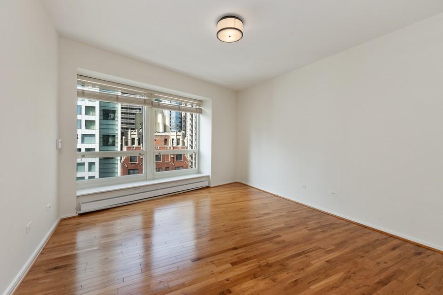 Real Estate Photography - 57 E Delaware, 1606, Chicago, IL, 60611 - Master Bedroom