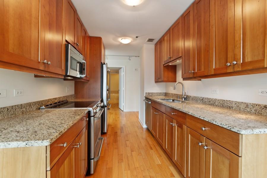 Real Estate Photography - 57 E Delaware, 1606, Chicago, IL, 60611 - Kitchen