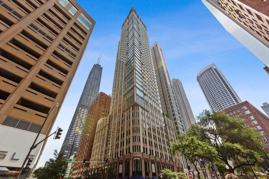 Real Estate Photography - 57 E Delaware, 1606, Chicago, IL, 60611 - Front View