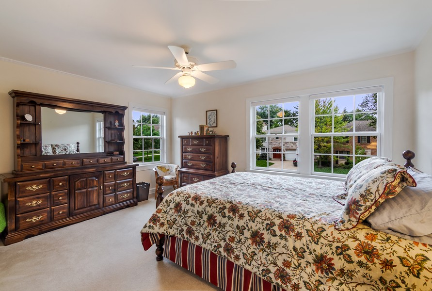 Real Estate Photography - 605 S. Burton Pl, Arlington Heights, IL, 60005 - 2nd Bedroom