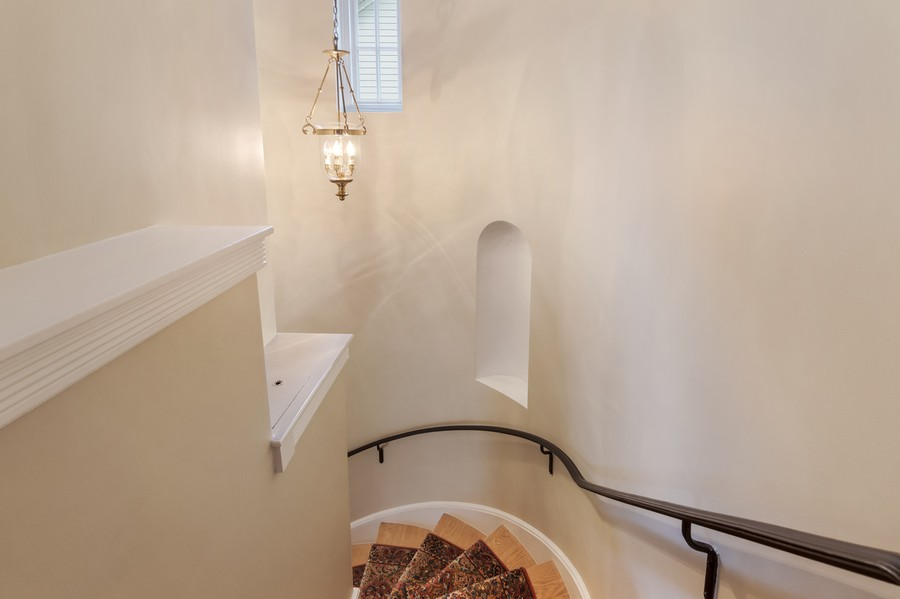 Real Estate Photography - 605 S. Burton Pl, Arlington Heights, IL, 60005 - Staircase