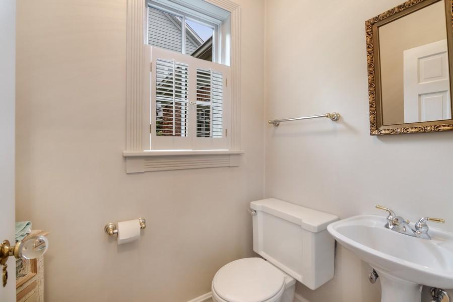 Real Estate Photography - 605 S. Burton Pl, Arlington Heights, IL, 60005 - Half Bath