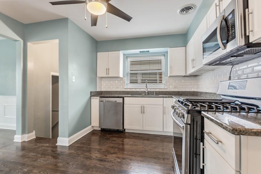 Real Estate Photography - 5120 S Natchez Ave, Chicago, IL, 60638 - Kitchen