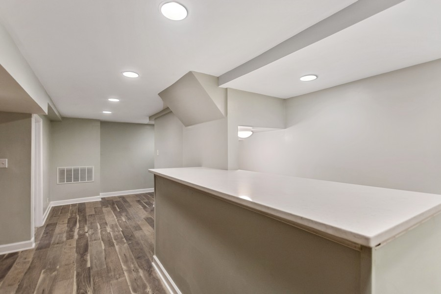 Real Estate Photography - 5120 S Natchez Ave, Chicago, IL, 60638 - Bar
