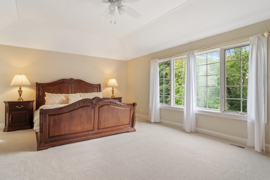 Real Estate Photography - 22820 S Woodcrest Ln, Kildeer, IL, 60047 - Master Bedroom