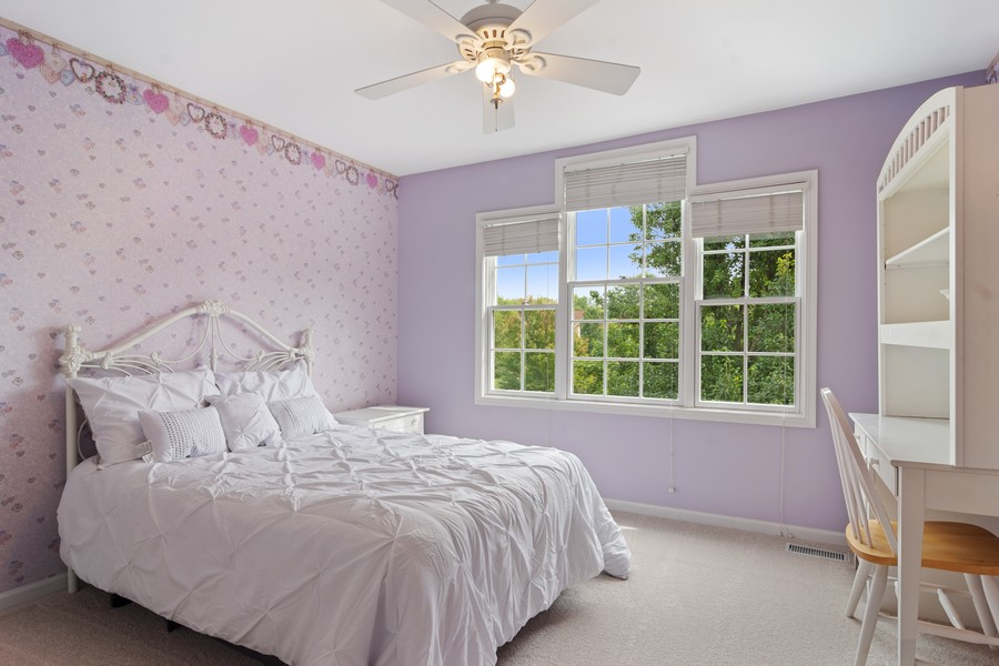 Real Estate Photography - 22820 S Woodcrest Ln, Kildeer, IL, 60047 - 4th Bedroom