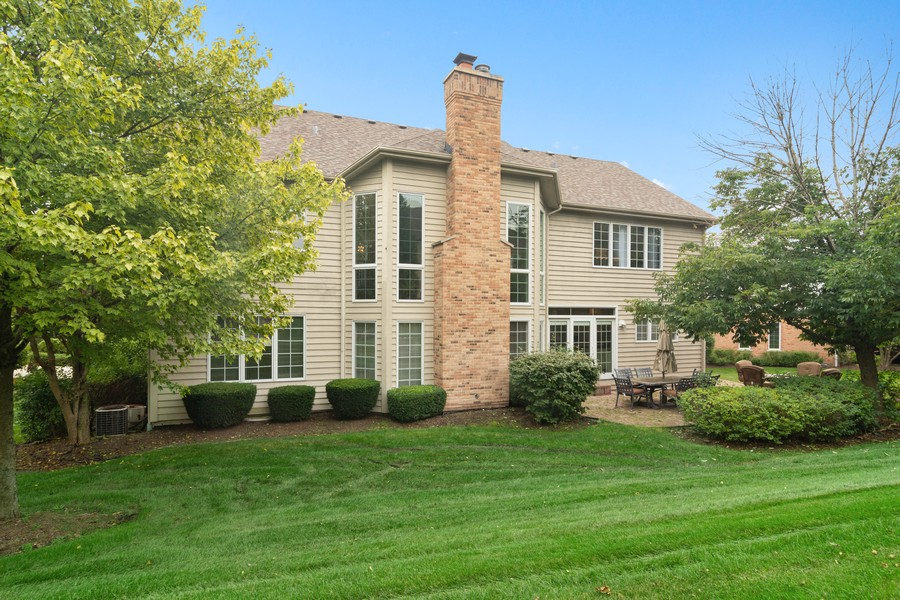 Real Estate Photography - 22820 S Woodcrest Ln, Kildeer, IL, 60047 - Rear View