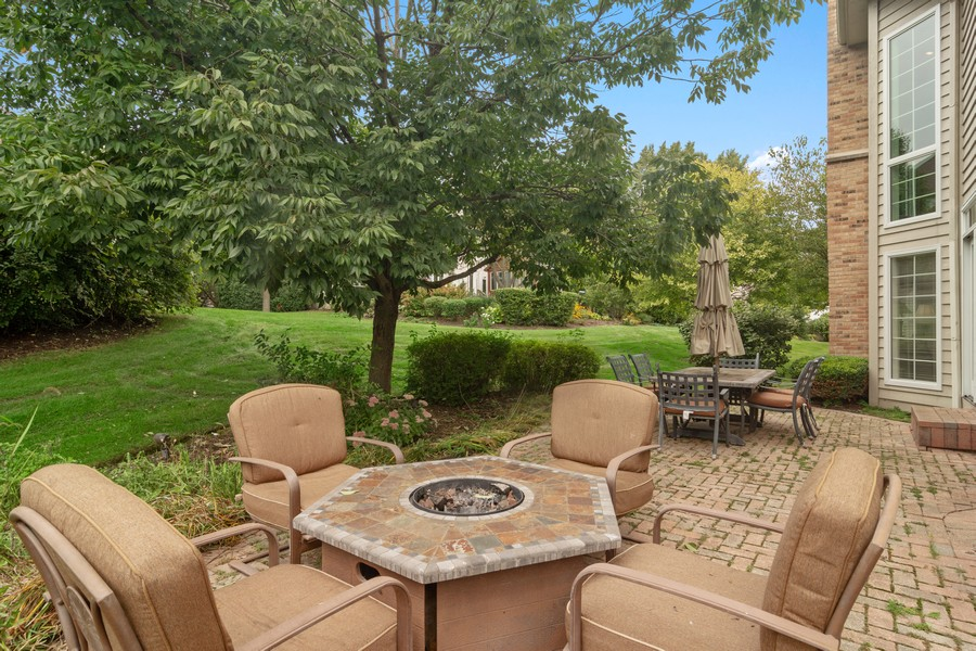 Real Estate Photography - 22820 S Woodcrest Ln, Kildeer, IL, 60047 - Patio