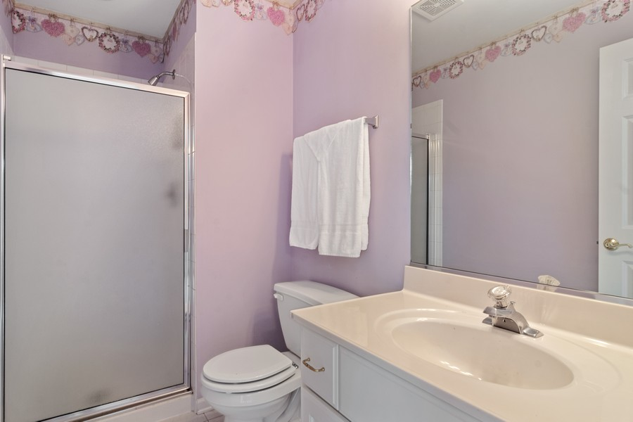 Real Estate Photography - 22820 S Woodcrest Ln, Kildeer, IL, 60047 - 2nd Bathroom