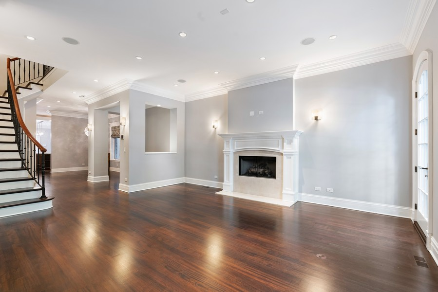 Real Estate Photography - 817 West Wrightwood, Chicago, IL, 60614 - Living Room
