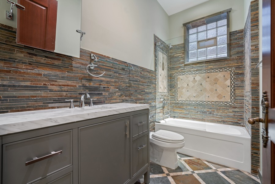 Real Estate Photography - 817 West Wrightwood, Chicago, IL, 60614 - 5th Bathroom