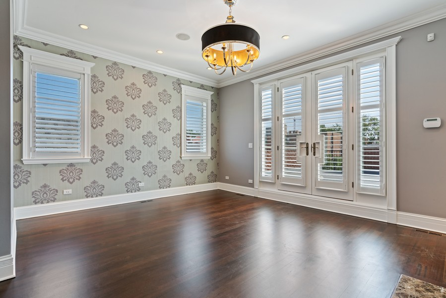Real Estate Photography - 817 West Wrightwood, Chicago, IL, 60614 - Master Bedroom