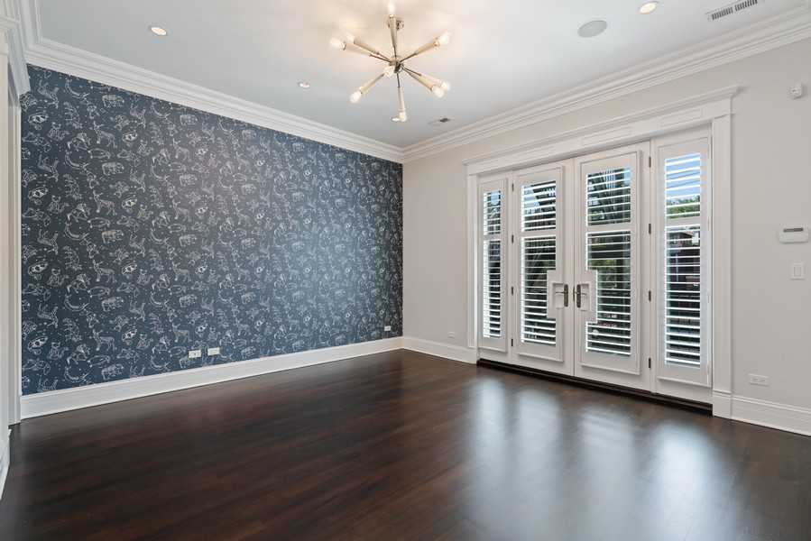 Real Estate Photography - 817 West Wrightwood, Chicago, IL, 60614 - 2nd Bedroom