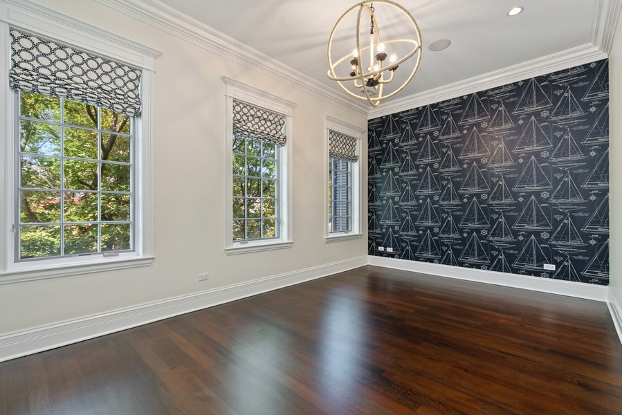 Real Estate Photography - 817 West Wrightwood, Chicago, IL, 60614 - 3rd Bedroom