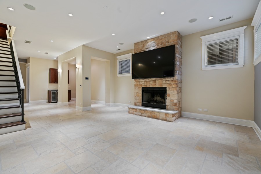 Real Estate Photography - 817 West Wrightwood, Chicago, IL, 60614 - Lower Level