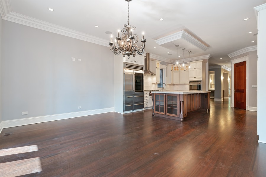 Real Estate Photography - 817 West Wrightwood, Chicago, IL, 60614 - Family Room