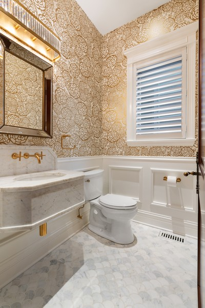 Real Estate Photography - 817 West Wrightwood, Chicago, IL, 60614 - Bathroom