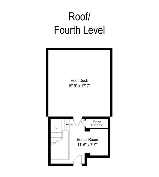 Real Estate Photography - 817 West Wrightwood, Chicago, IL, 60614 - Floor Plan