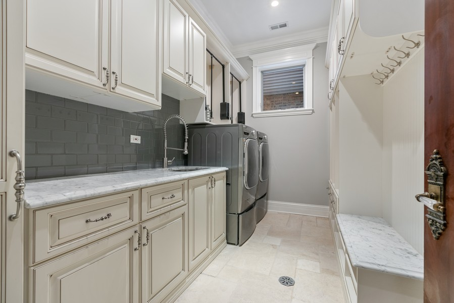 Real Estate Photography - 817 West Wrightwood, Chicago, IL, 60614 - Laundry Room