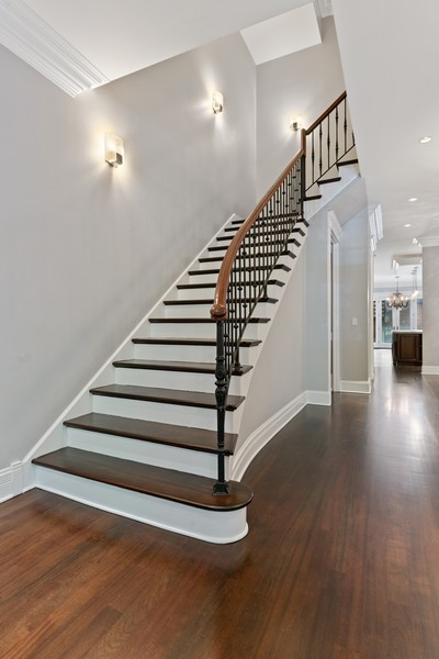 Real Estate Photography - 817 West Wrightwood, Chicago, IL, 60614 - Staircase