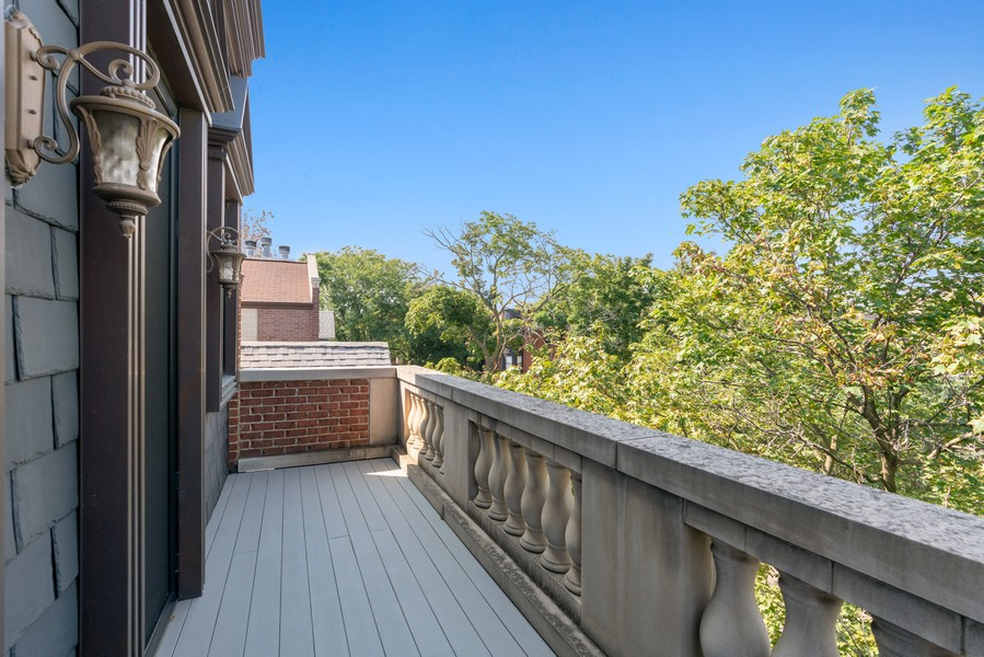 Real Estate Photography - 817 West Wrightwood, Chicago, IL, 60614 - Balcony