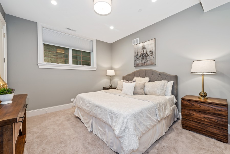 Real Estate Photography - 1306 W Byron St, Chicago, IL, 60613 - 4th Bedroom