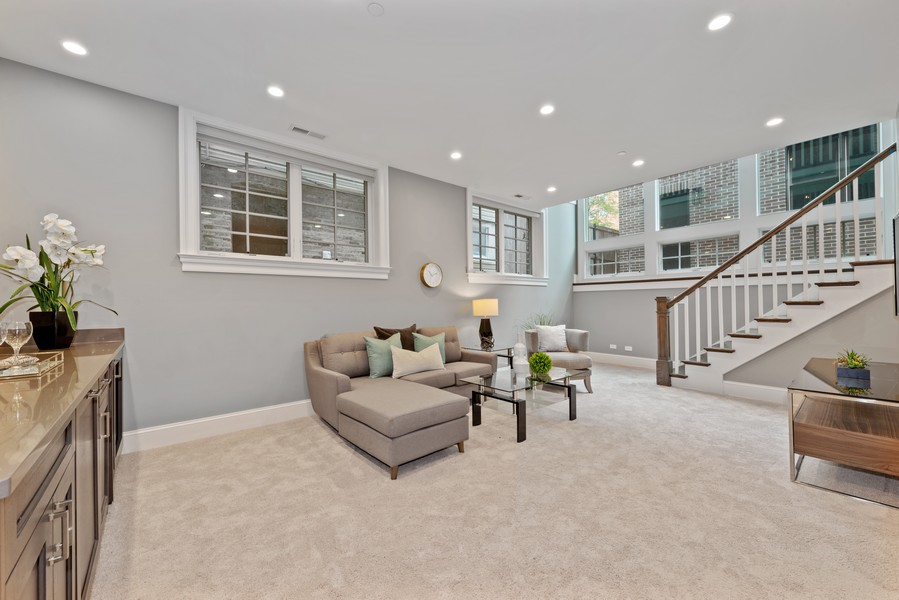 Real Estate Photography - 1306 W Byron St, Chicago, IL, 60613 - Lower Level