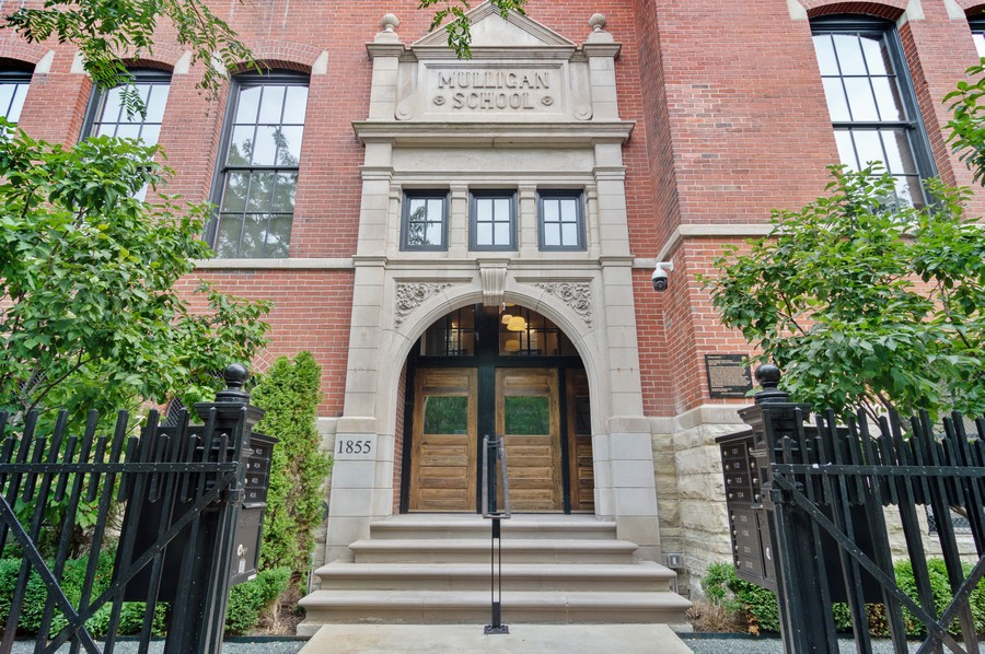 Real Estate Photography - 1855 N Sheffield Ave, Unit 105, Chicago, IL, 60614 - Front View