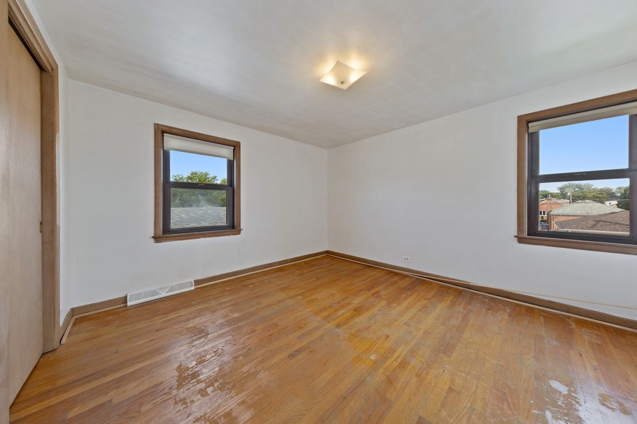 Real Estate Photography - 5727 S Austin Avenue, Chicago, IL, 60638 - 3rd Bedroom