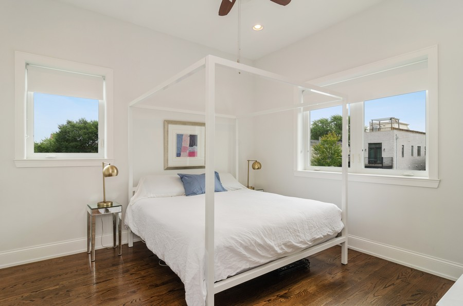 Real Estate Photography - 2627 W. Thomas unit 3, Chicago, IL, 60622 - Master Bedroom