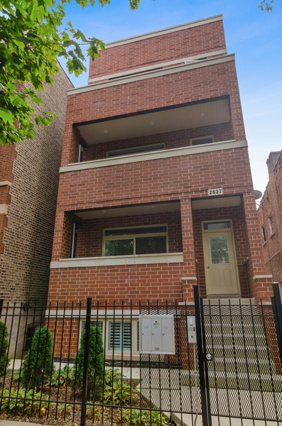 Real Estate Photography - 2627 W. Thomas unit 3, Chicago, IL, 60622 - Front View