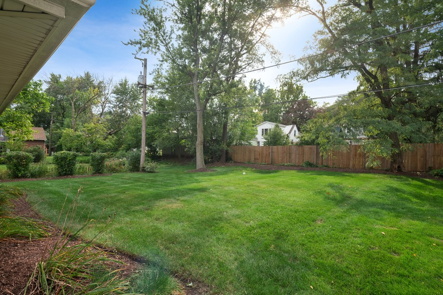 Real Estate Photography - 32 Arthur Ave., Clarendon Hills, IL, 60514 - Back Yard