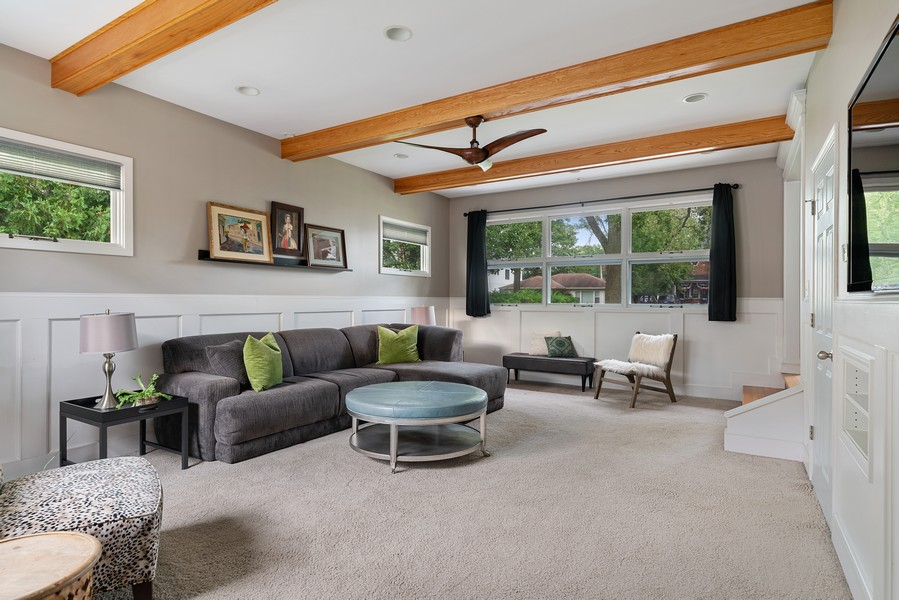 Real Estate Photography - 32 Arthur Ave., Clarendon Hills, IL, 60514 - Family Room