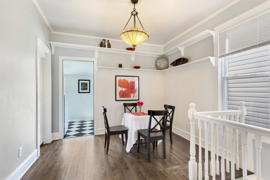 Real Estate Photography - 1327 Grove, Berwyn, IL, 60403 - Dining Room