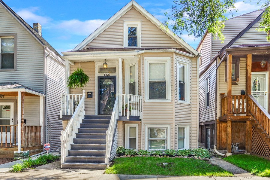 Real Estate Photography - 1327 Grove, Berwyn, IL, 60403 - Front View