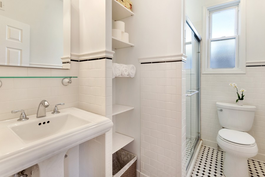 Real Estate Photography - 1327 Grove, Berwyn, IL, 60403 - Bathroom