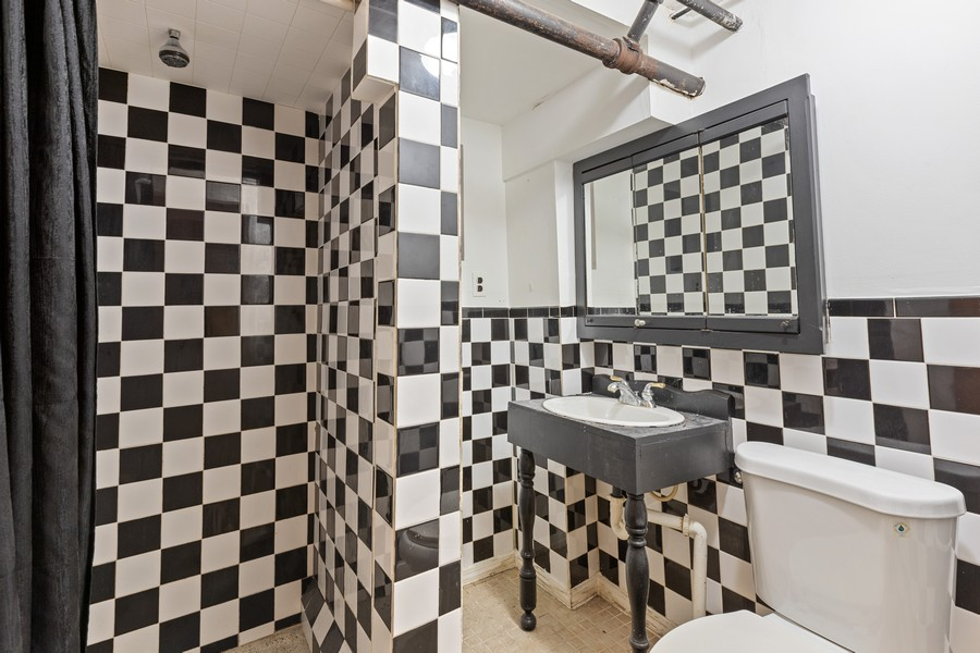 Real Estate Photography - 3804 N Sawyer Ave, Chicago, IL, 60618 - 3rd Bathroom