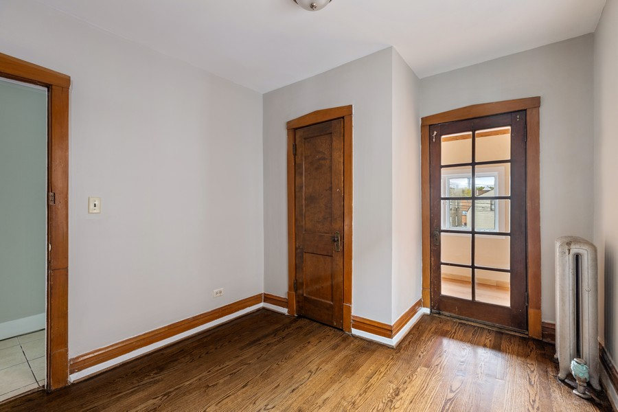 Real Estate Photography - 3804 N Sawyer Ave, Chicago, IL, 60618 - 2nd Bedroom
