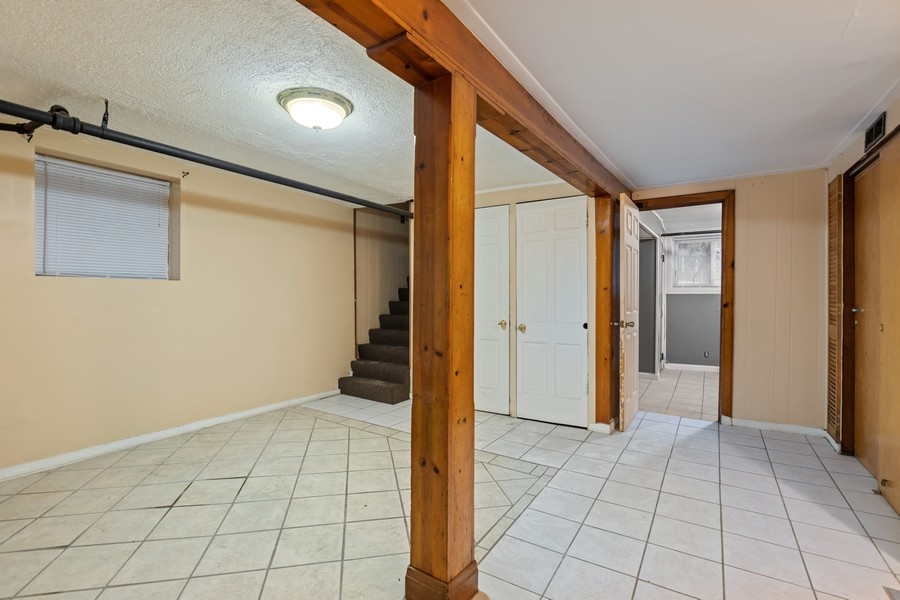 Real Estate Photography - 3804 N Sawyer Ave, Chicago, IL, 60618 - Lower Level