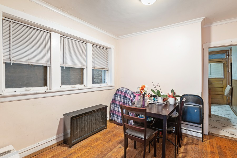 Real Estate Photography - 3804 N Sawyer Ave, Chicago, IL, 60618 - Dining Room